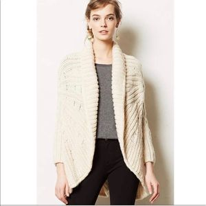 Anthropologie heavy knit cardigan